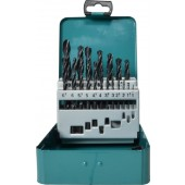 Makita D-54081 19 Piece HSS-R Metal Drill Bit Set