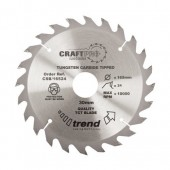 Trend CSB/16524 Craft Saw Blade 165mm x 24T x 30mm