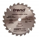 Trend CSB/18424 Craft saw blade 184mm x 24 teeth x 16mm