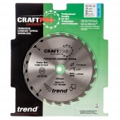 Trend CSB/21024 Craft Saw Blade 210mm x 24T x 30mm