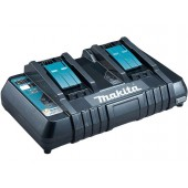 Makita DC18RD 230v 14.4-18V LXT Twin Port Rapid Battery Charger